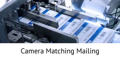 Camera Matching Mailing - Incentive Fulfillment