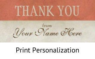 Print Personalization - Mail Survey