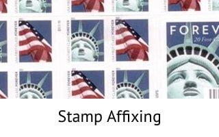 Stamp Affixing - Mail Survey