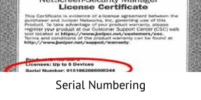 Serial Numbering - Project Consulting
