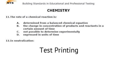 Test Printing - Document Printing