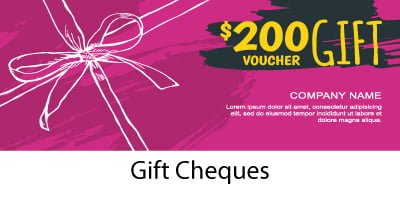 Gift Cheques - Incentive Fulfillment
