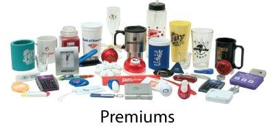 Premiums - Incentive Fulfillment